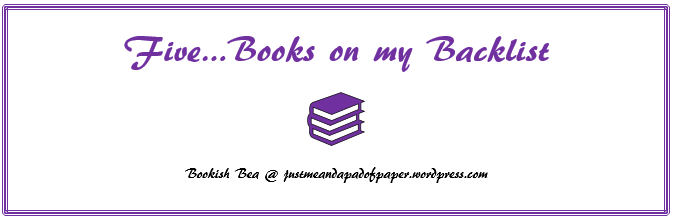 books on my backlist